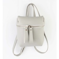 "Cross body ""Backpack"" grey"