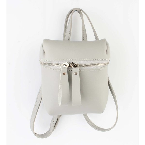 "Cross body bag ""Backpack"" grey"