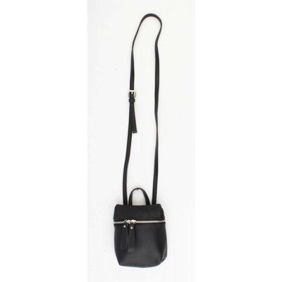 """Cross body bag """"Backpack"""" black"""