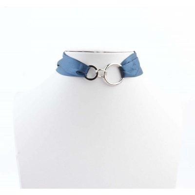 "Multi Halskette ""Bow"" blau"