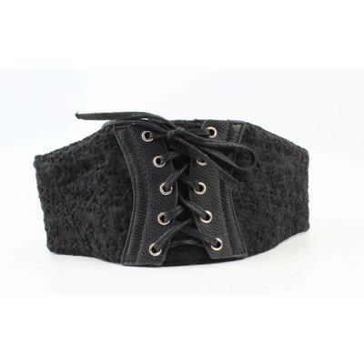 Corset lace black