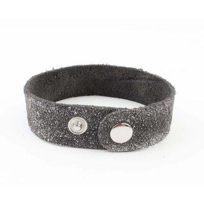"Armband ""Metallrohre"" grau"