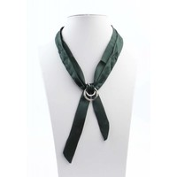 "Necklace ""Bow"" petrol"