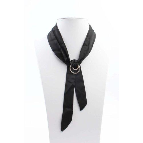 """Halskette """"Bow"""" schwarz"""
