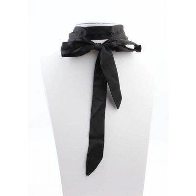 """Multi Halskette """"Bow"""" schwarz"""