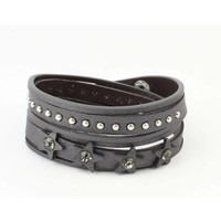 "Armband ""Ster & Dot"" grau"
