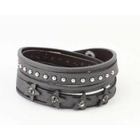 "Bracelet ""Star & Dot"" grey"