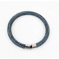 "Armband ""Strass"" blau"