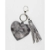 "Pendant ""Heart & Love"" grey"