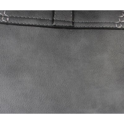 "Cross Body Tasche ""Stitched"" grau"