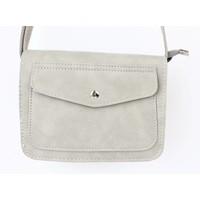 """Crossbody tas """"Pocket"""" licht grijs"""