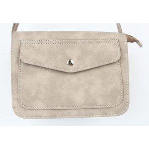 "Cross body bag ""Pocket"" beige"