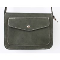 "Cross body bag ""Pocket"" green"