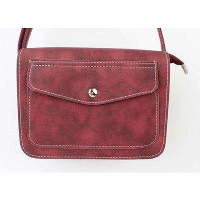 """Crossbody tas """"Pocket"""" rood"""