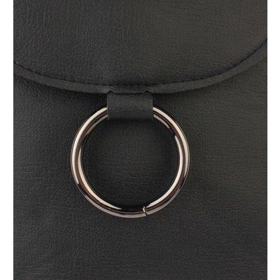 "Cross Body Tasche ""Ring"" schwarz"