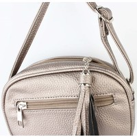 "Cross Body Tasche ""Glam"" hellbraun"