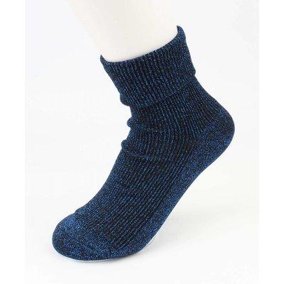 "Socken ""Uni Lurex"" blau, doppelpack"