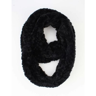 """Loop """"Fur"""" black"""