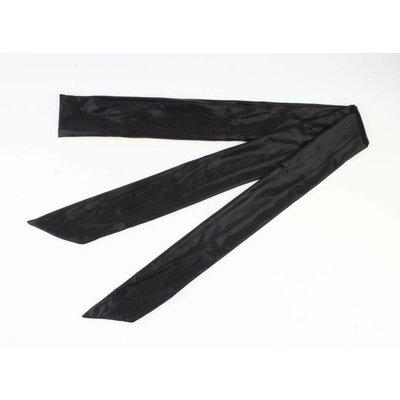 """Skinny Schal """"Uni Krawatte"""" schwarz"""