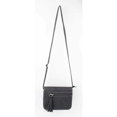 "Cross body bag ""Tassel"" blue"