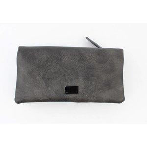 "Wallet ""fold"" grey"