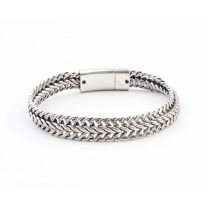 """Armband """"Nisa"""" zilver"""