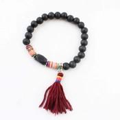 """Bracelet """"Isra"""" black"""