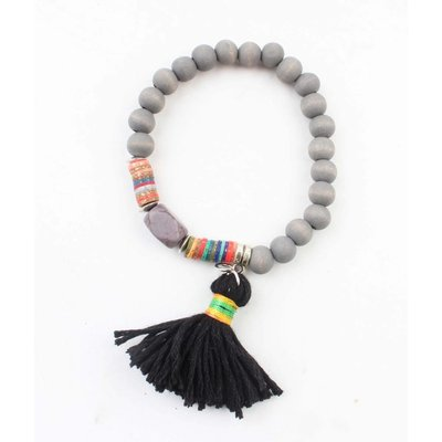 "Bracelet ""Isra"" grey"
