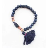 "Armband ""Isra"" blauw"