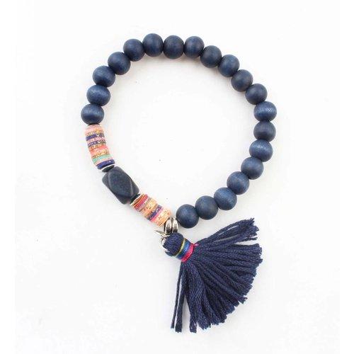 """Armband """"Isra"""" blau"""