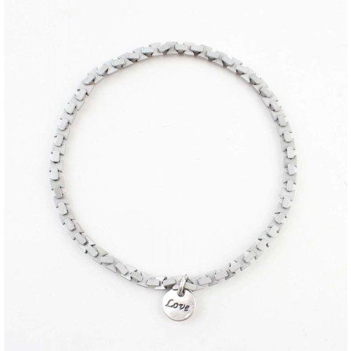 "Armband ""Ise"" oud zilver"