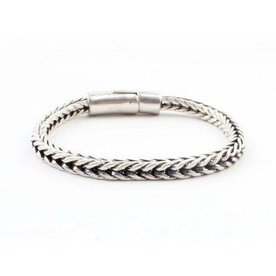 "Stalen armband ""Noé"" zilver"