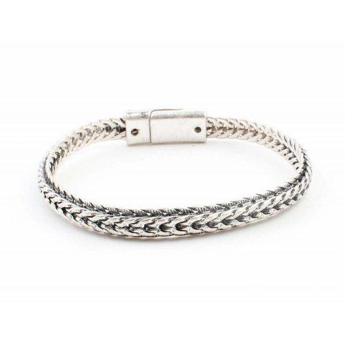 "Armband ""Fleur"" zilver"