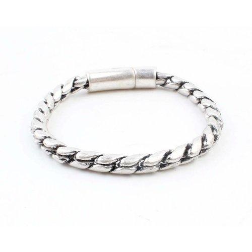 """Armband """"Noor"""" zilver"""