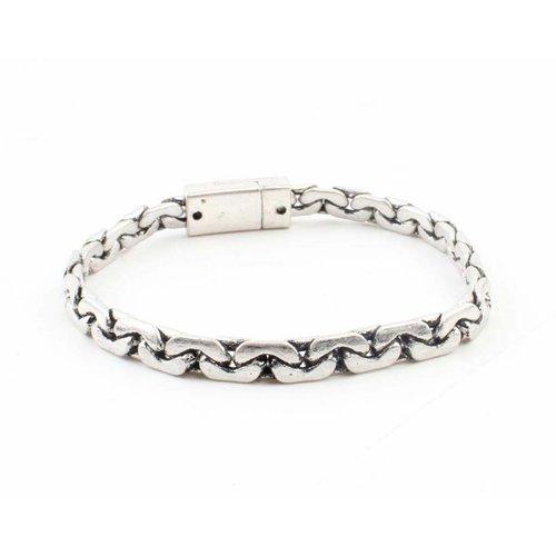 """Armband """"Naomi"""" zilver"""
