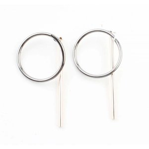 "Earring ""Nora"" silver/gold"