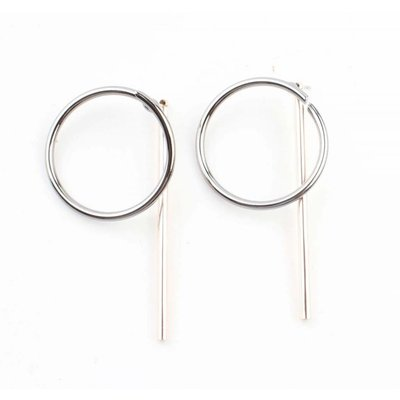 """Earring """"Nora"""" silver/gold"""