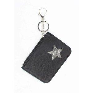 """Keychain """"wallet"""" black"""