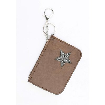 "Keychain ""wallet"" brown"