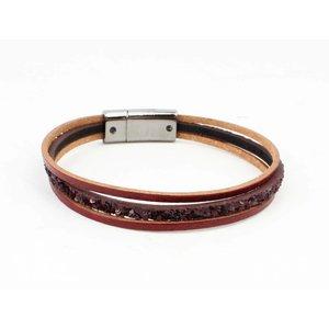 "Bracelet ""Louise"" red"