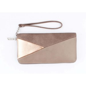 """Wallet """"Triangle"""" brown"""