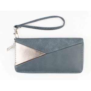 "Wallet ""Triangle"" blue"
