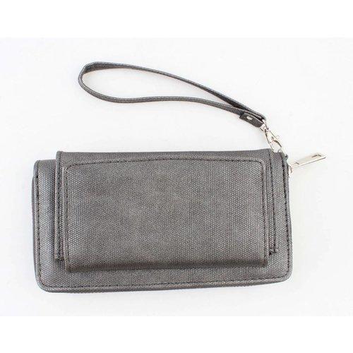 """Wallet """"Canvas"""" grey"""