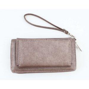 """Wallet """"Canvas"""" brown"""