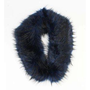 """Scarf """"Fur"""" blue"""