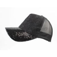 "Cap ""Embroidery & Sequin"" black"
