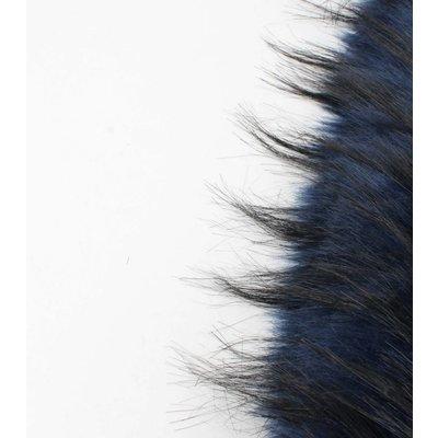 """Skinny Schal """"Fell"""" blau"""
