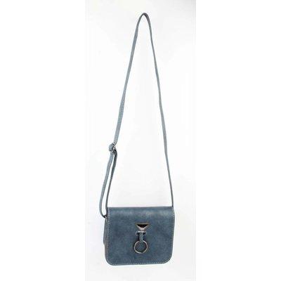 "Crossbody bag ""Hang ring"" Blue"