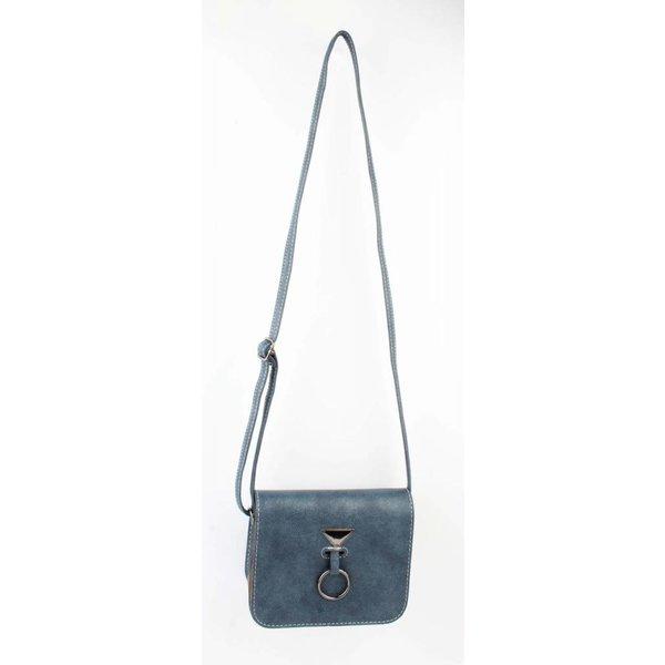 "Crossbody Tasche ""Hang Ring"" blau"