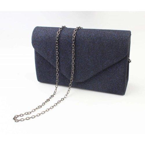 "Envelop tas ""Chique"" blauw"